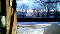Winter Morning - HFF 365/113 (Maenette1) Tags: winter morning snow fence menominee uppermichigan happyfencefriday flicker365 michiganfavorites project365