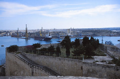 Raħal Ġdid (demeeschter) Tags: malta valletta city town building architecture street palace bastion fort sea mediterranean harbour