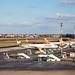 Flughafen Berlin Tegel (TXL): Vorfeld mit Condor, Easyjet
