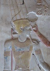 Amun, Abydos (Aidan McRae Thomson) Tags: abydos temple egypt ancient egyptian relief carving