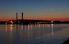 Dusky Docks (GLC 392) Tags: presque isle marquette mi michigan dusk sun set sunset iron ore dock lsi lake superior ishpeming coal tower power plant water kae e baker interlake steamship company classic laker