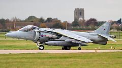 ZD437/EB-J HARRIER 41sqn RAF (MANX NORTON) Tags: zd437ebj harrier 41sqn raf jaguar alphajet hawker hunter hs146 king air b200