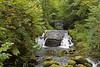 waterfalls (brian@bletchingley) Tags: waterfall watersmeet rocks trees river devon