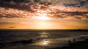 Low Sun Across the Solent (mynamesleon) Tags: sun sunset sunrise sunburst light lights sunlight clouds solent water ocean sea beach seascape southsea portsmouth sky sand wave pier