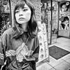 harajuku, japan (michaelalvis) Tags: people candid monochrome bw blackandwhite woman city travel japan japanese asia tokyo harajuku streetphotography streetlife peoplestreet fujifilm x70