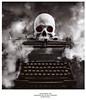 GHOST WRITER TYPEWRITER 709D 1996  SEPIA FINAL web (cameraefx) Tags: hasselblad film stillife