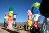 Seven Magic Mountains (pepandtim) Tags: seven magic mountains art installation swiss artist ugo rondinone las vegas columns boulders bright colours lesson heat absorption silver white cool touch black rock warm 33sev43