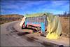 breakdown (Jan Herremans) Tags: africa morocco essaouira truck road axle