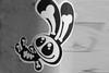 Only an stencil Citty sticker Amsterdam (Marco Braun) Tags: holland walart graffiti stencil streetart black white weiss blanche noire schwarz werft amsterdam niederlande netherland nsdm schablone pochoire karnikel rabit holandniederlande