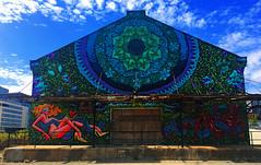 Mandala by Jas Petersen & Solomon Souza (wiredforlego) Tags: graffiti streetart urbanart aerosolart publicart chicago illinois ord solomonsouza jaspetersen