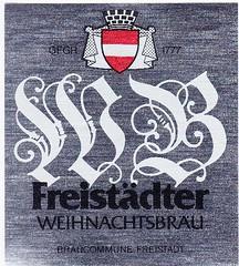Austria - Braucommune Freistadt (Freistadt) (cigpack.at) Tags: bier beer brauerei brewery label etikett bierflasche bieretikett flaschenetikett freistadt braucommune österreich austria freistädter weihnachtsbräu weihnachten christmas xmas