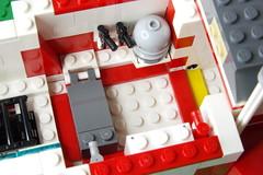 Central area pic 2 (Evrant) Tags: star wars hammerhead corvette interior custom moc lego spaceship