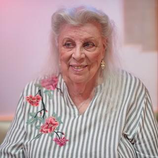 Mom Celebrating her 91st Birthday - Nikon D750 - AF-S Nikkor 50mm 1:1.4 G