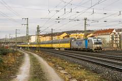 193 810-9 Rurtalbahn Cargo Würzburg 02.02.18 (Paul David Smith (Widnes Road)) Tags: 1938109 rurtalbahn cargo würzburg 020218 vectron siemens br193