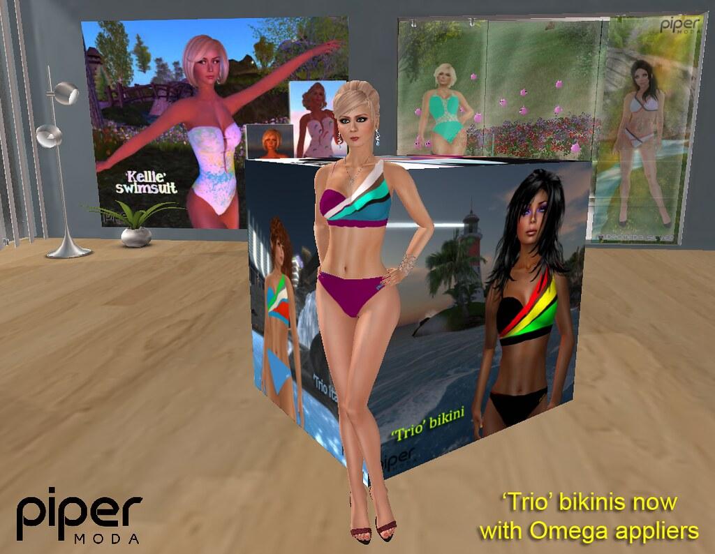 509c149c5d487 'Trio' bikinis with appliers (karenpiper_uk) Tags: appliers freebie bikini  pipermoda swimwear