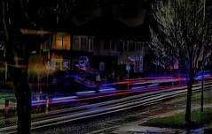 Crazy light trail!!!👍 (LeanneHall3 :-)) Tags: lighttrails cars ambulance lights streetlamps street road night nightshot nightphotography landscape canon 1300d