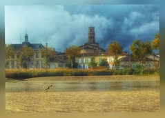 From the river... (Sherrianne100) Tags: river scenery gironde wine frenchwines pauillac acquitainefrance france