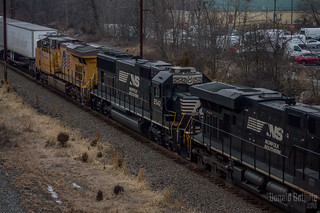 Norfolk Southern SD70 #2542 @ Fairless Hills, PA