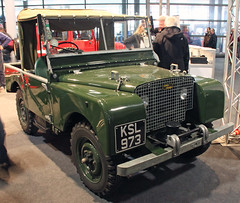 Series I (Schwanzus_Longus) Tags: bremen german germany classic motorshow old vintage car vehicle 4x4 awd 4wd offroad offroader uk gb great britain british england english land rover series i