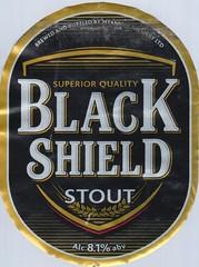 Black Shield Stout (Die Welt, wie ich sie vorfand) Tags: beer label blackshield stout myanmar burma
