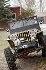 Jeep & Snow -1 (sammycj2a) Tags: willys jeep snow nikon rockcrawler winch factor55 ogden utah