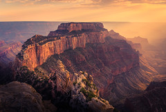 Cape Royal (andreassofus) Tags: grandcanyon northrim caperoyal america usa landscape grandlandscape mountainscape sunset amazing view viewpoint overlook stunningview light sulight rocks evening powerful sky clouds sunbeam color colorful nature mothernature summer summertime travel travephotography horizon panorama panoramic