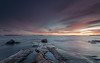 The sky's the neighborhood (Mika Laitinen) Tags: balticsea canon5dmarkiv europe finland helsinki leendgrad suomi särkkäniemi uutela vuosaari cloud cold color landscape longexposure nature outdoors rock sea seascape shore sky sunset water winter helsingfors uusimaa fi