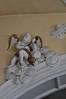 Hildesheim, Niedersachsen, Mauritiuskirche, arch decoration (groenling) Tags: hildesheim niedersachsen deutschland germany hi de mauritiuskirche moritzberg stiftskirche stmauritius arch ceiling vault deckel stucco stuck öder plaster thurible weihrauchfass