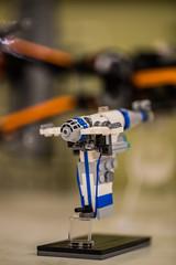LEGO micro scale Resistance bomber, Photo by Gatis Indrevics (krocans) Tags: lego legostarwars legophotography microscale legomoc legophoto resistance bomber legodesign starwarslego