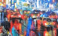 Cars in the rain (chearn73) Tags: camden mural painting graffiti streetart london uk city urban
