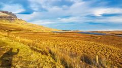 Old Man of Storr (Donald Morrison) Tags: storrlochs loch oldmanofstorr skye isleofskye island winter cold weather sunshine scotland highlands