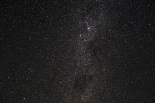 Southern milky way wide field Sony a6000 Sigma 30mm 1.4 Carina nebula, coalsack dark nebula,southern cross