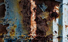 Disjunction (Junkstock) Tags: abstract abstraction blue color corrosion corroded california decay decayed distressed paint peelingpaint rust rusty rusted rustyandcrusty textures texture weathered wynola