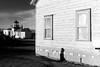 West Point decay monochrome (@GilAegerter / klahini.com) Tags: minolta minoltax700 x700 rokkor film filmisnotdead kodak kodacolor seattle discoverypark westpoint blackandwhite bw monochrome mono