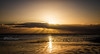 Golden (rhfo2o - Rick Hathaway Photography) Tags: rhfo2o canon canoneos7d elmer elmersands bognorregis westsussex beach sea seaside sand sun waves clouds sunset horizon reflection sunrays godsfingers sky