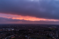 Winter Sunset (Steve Samosa Photography) Tags: whiston england unitedkingdom gb aerial aerialview dronecamera droneshot drone