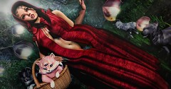 Red (Sugarfairy88 Resident) Tags: sl secondlife noblecreations pixicat foxcity thechapterfour anc avenge theseasonsstory uber glamaffair lelutka homage thewhitecrow peaches slfashion sexy slfantasy fantasy fashion digitalart fairytale 3dart