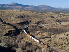 BNSF 7793 West at Crozier Canyon, AZ (thechief500) Tags: bnsf croziercanyon railroads seligmansubdivision az arizona