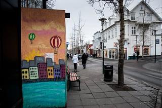 Islande, Reykjavik, 1