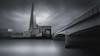 Silent City (paulantony2) Tags: city urban bridge thames london shard blackandwhite monochrome nikon d7100 10stop lee longexposure