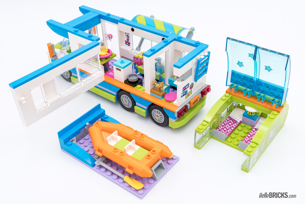 lego friends camper instructions
