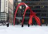Jan 17 / Calder, colder (Josh Thompson) Tags: calder chicago d7000 sculpture sigma30mmf14dc snow lightroom5