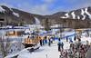 Stoneham, Qc. Canada (Huguette T.) Tags: hiver ski sports pistes