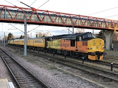 37219 CAMBRIDGE 020218 (David Beardmore) Tags: 37219 colas colasrailfreight networkrail testtrain class37 dieselengine dieselelectric diesellocomotive englishelectric vulcanfoundry britishrailways britishrail