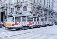 MIL_4904_200305 (Tram Photos) Tags: fiatferroviaria fiat jumbotram 4900 milano mailand milan atm tram tramway aziendatrasportimilanesi vollwerbung ganzreklame strasenbahn