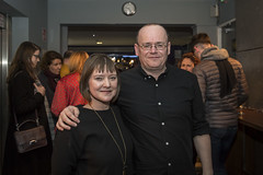 The Approach _ Opening Night (SteMurray) Tags: approved approach mark o rowe orowe ireland irish playright play landmark stemurray steie project arts centre aisling osullivan cathy belton dearbhle crotty