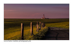 Letztes Tageslicht / last daylight (H. Roebke) Tags: lighthouse de deutschland color landschaft canon35mmf14lusm nature sonnenuntergang germany lighthousethursday rural natur westerhever leuchtturm strand westerheversand canon7d architektur architecture 2012 landscape sunset lightroom sky trolled