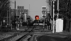 the Great Wall (David Sebben) Tags: canadian pacific freight train great wall davenport iowa rock island lines iowainterstate selective color