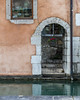 Stairway to Le Thiou (andyscho2004) Tags: doorway opening window canal river thiou architecture stairs stairway peach stone render arch annecy hautesavoie france alps rhone nikon d7100 quaidelevêché bishopswharf flowerpot