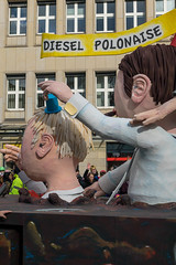Wagen mit der Aufschrift Diesel Polonaise - Kölner Karneval 2018 (marcoverch) Tags: köln nordrheinwestfalen deutschland de people menschen festival man mann woman frau dragrace group gruppe street strase adult erwachsene parade celebration feier city stadt exhibition ausstellung outdoors drausen religion fun spas music musik performance strange seltsam rally rallye competition wettbewerb canada airplane hiking flickr inabottle abandoned macromondays february robin españa wagen aufschrift dieselpolonaise kölnerkarneval2018